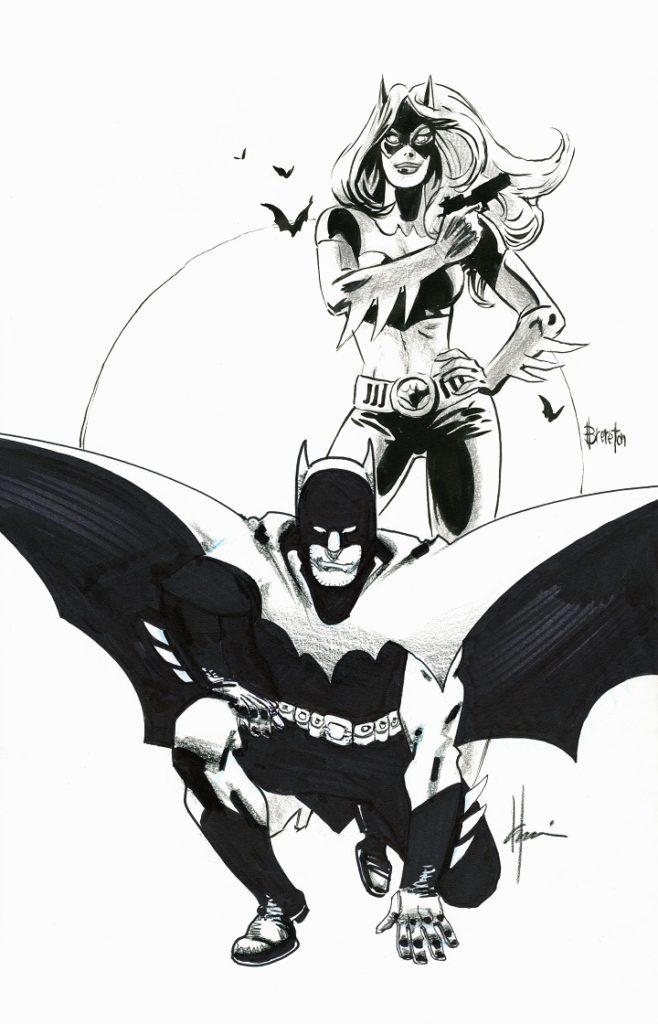 Elseworlds Batman and Batgirl