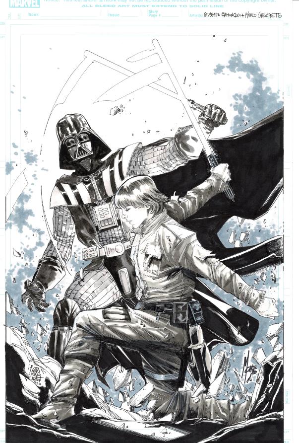 Darth Vader vs. Luke Skywalker